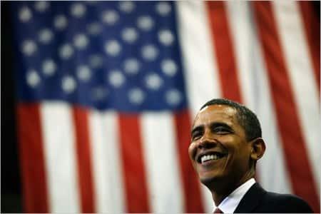 Barack Obama wint de verkiezingen