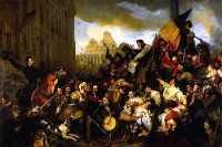 Belgian Revolution (Gustave Wappers)
