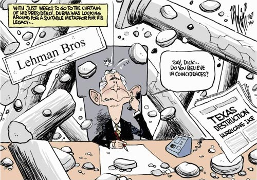 Lehman Brothers and Bush
