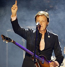 paul mccartney israel