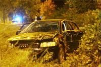 Audi of Verhofstadt crashed