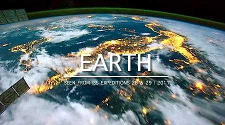 De Aarde vanuit de Ruimte: ISS Timelapse
