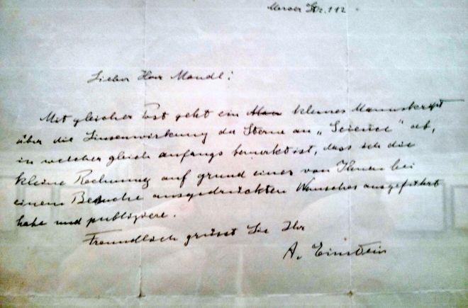 Ernest Hemingway handschrift