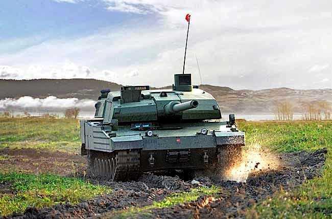 De Altay MBT tank van Turkije