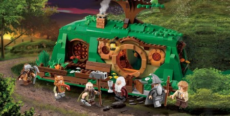 An Unexpected Gathering in Lego