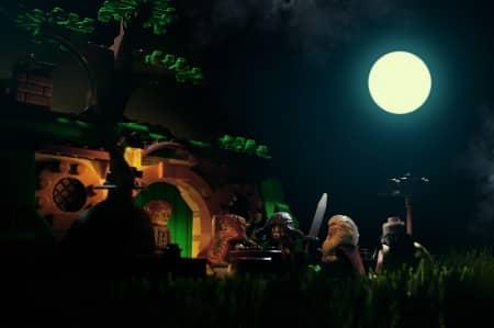 Bilbo en de dwergen