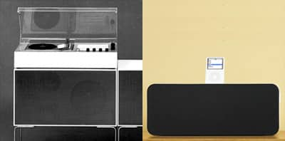 Braun L60 sound system en Apple iPod Hi-Fi