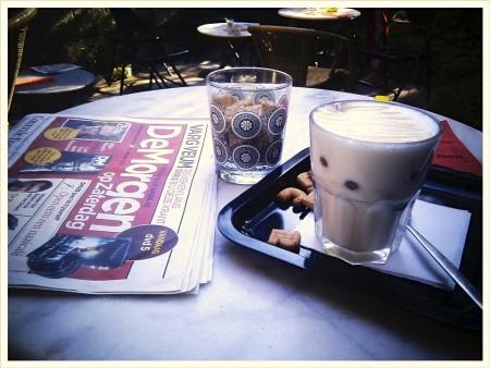 Het terras van Caffènation