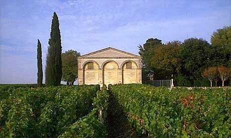 Château Mouton Rothschild wijngaard