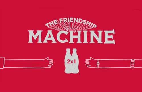 Coca-Cola Friendship Machine