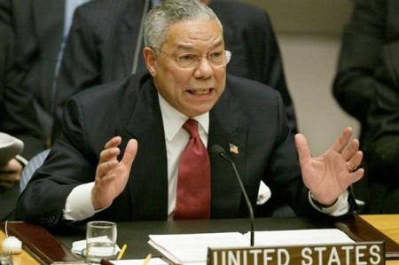 Colin Powell voor de VN Veiligheidsraad