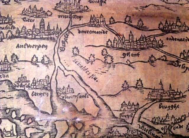 Schelde in Corte Cronikel, 1557