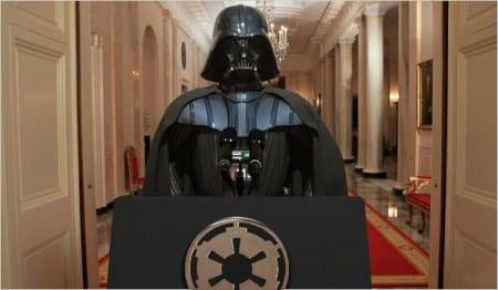 Darth Vader podium