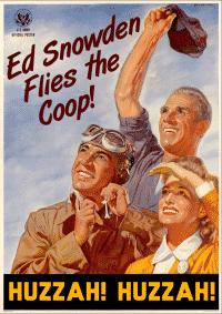Edward Snowden poster