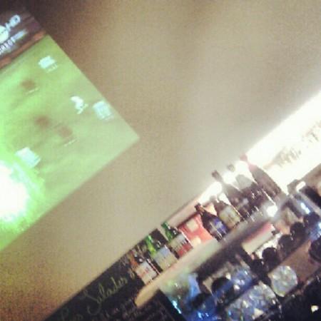 EURO 2012 op groot scherm