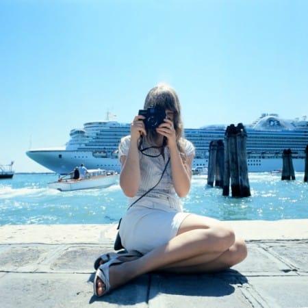Linda Baumsteiger in Venice