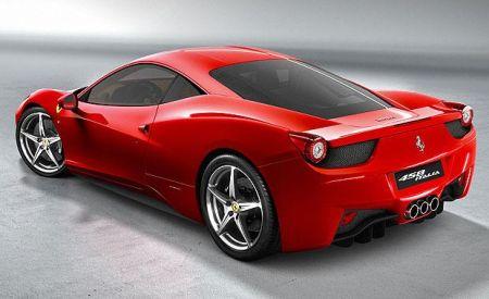 Ferrari 458 Italia achterkant