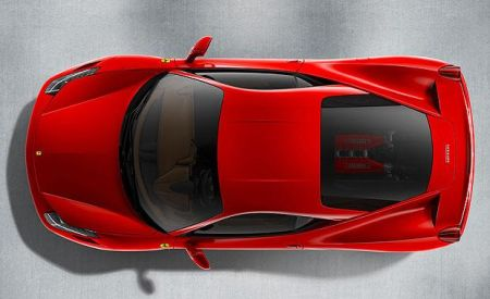 Ferrari 458 Italia bovenkant
