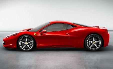 Ferrari 458 Italia zijkant