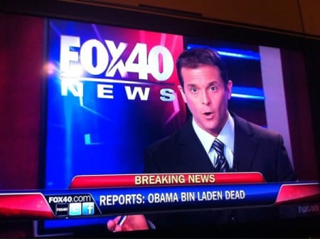 Fox: Obama Bin Laden dead