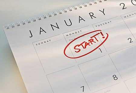 Goede voornemens voor 2011