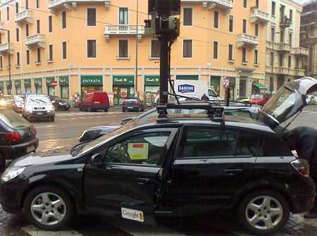 Google street view auto aardling for Huis zichtbaar maken google streetview