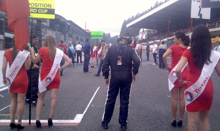 Gridwalk in Spa-Francorchamps