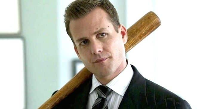 Harvey Specter met baseball bat