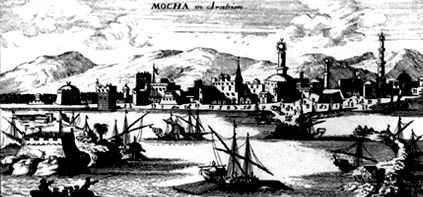 Mokka haven in Jemen