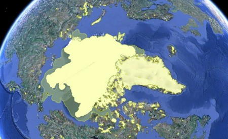 IJskap Noordpool 2000-2010