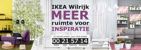 Ikea Wilrijk countdown