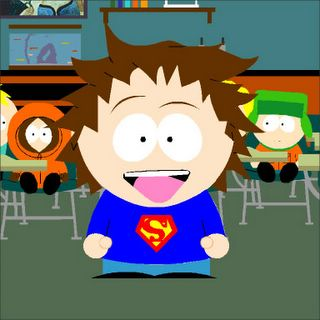 Stijn in South Park