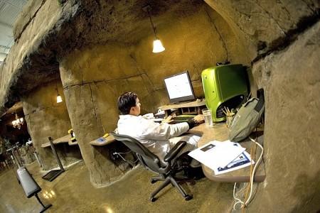 De creatieve grot bij Inventionland