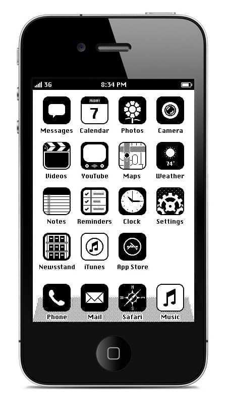 iPhone iOS '86