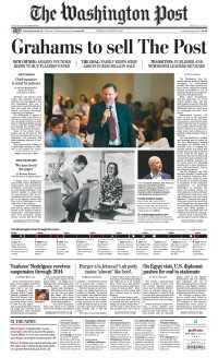 Jeff Bezos koopt Washington Post
