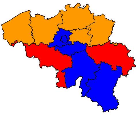 Kieskringen België
