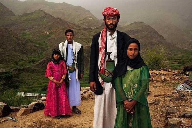 Kindbruidjes in Jemen