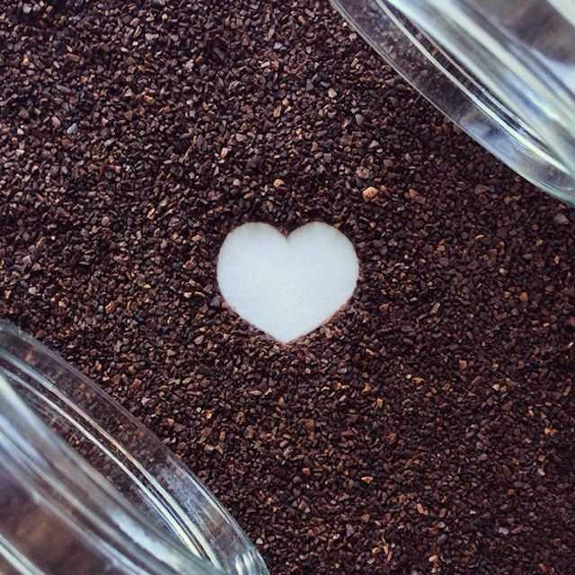 Koffiekunst van Liv Buranday