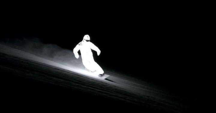 LED snowboard pak
