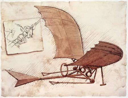 Leonardo da Vinci's vliegmachine