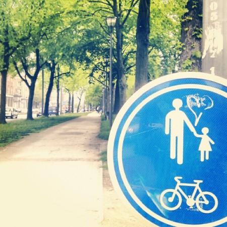 Liefde is een wandeling door het park