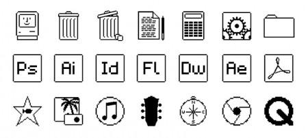 Mac OS Old School iconen