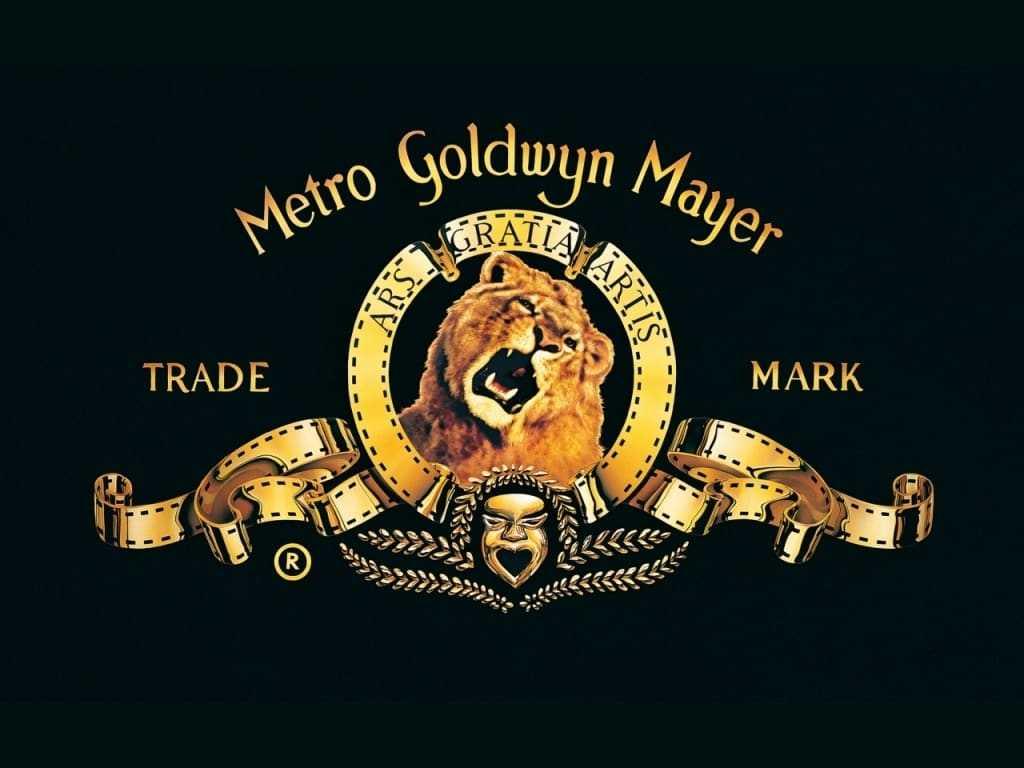 Het logo van MGM