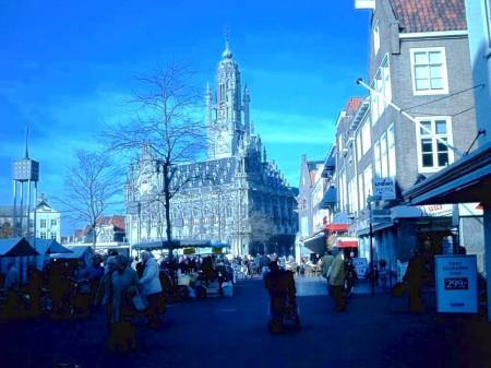 Marktplein van Middelburg