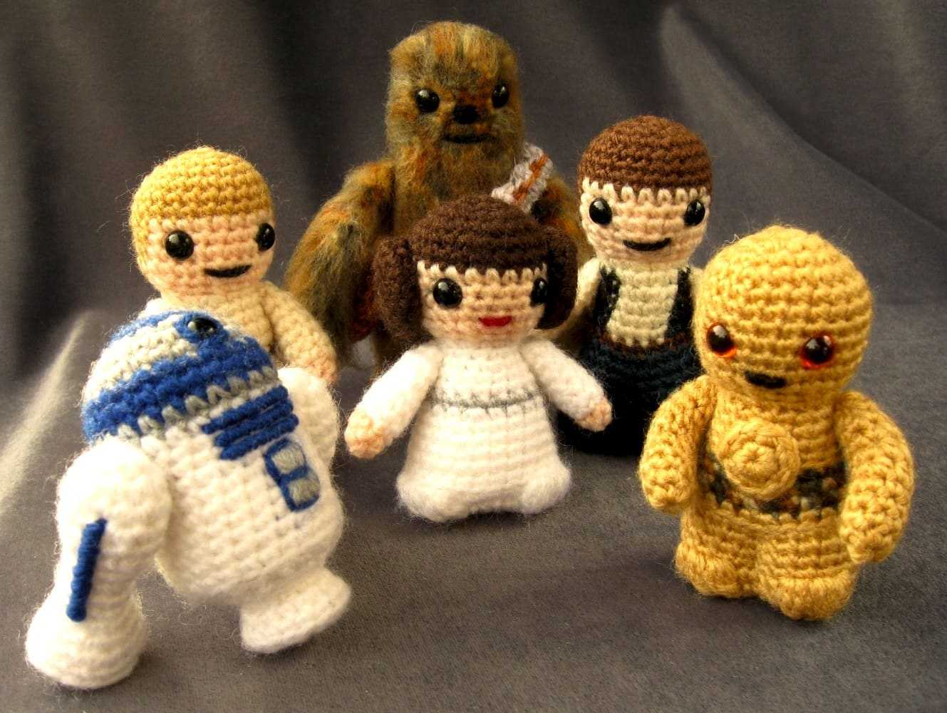 Free Amigurumi Snowman Crochet Patterns : Mini Star Wars Amigurumi ? Aardling