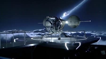 Oblivion helicopter en kapotte Maan