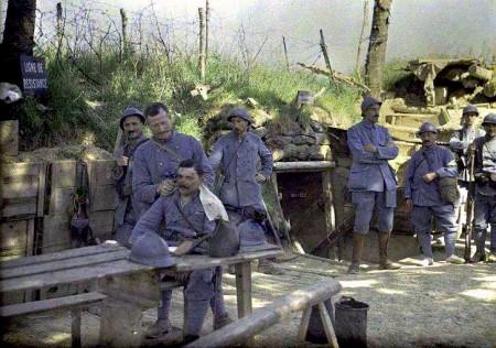 Eerste Wereldoorlog in kleur