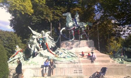 Oorlogsmonument stadspark Antwerpen