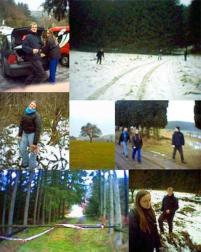 Oudjaar in de Ardennen
