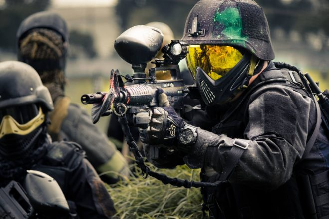 Paintball geweer of gun